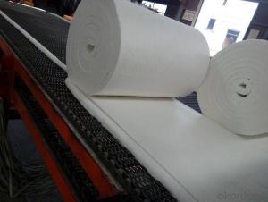 Ceramic Wool Blanket 1260 High Purity 25mm Thick  For Fireproof Door