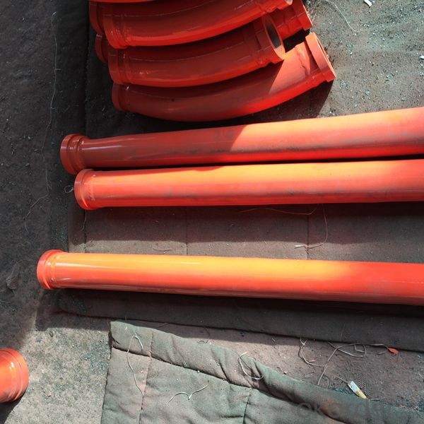 Concrete Pump Delivery Bend(DN125*45 Degree)