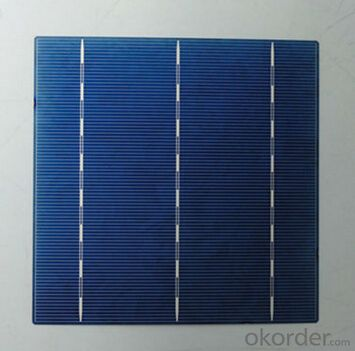 Monocrystalline Solar Cells High Quality 17.20-19.40