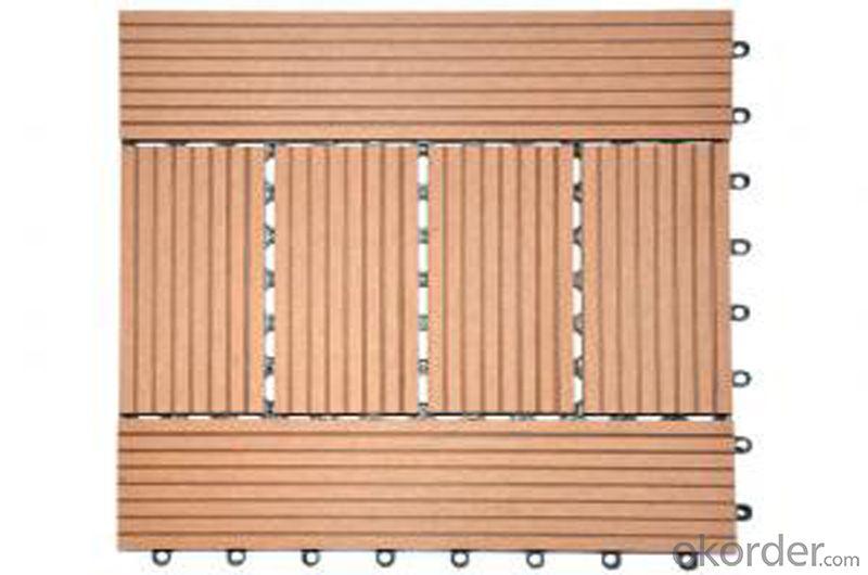DIY WPC Decking Mosaic Floor Flooring Joint