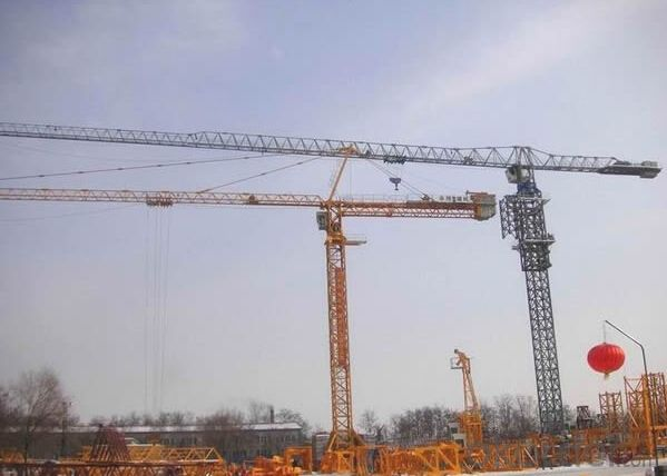 Topless Tower Crane TCP5515 With Jib 55 M and 1.5 Ton Tip Load