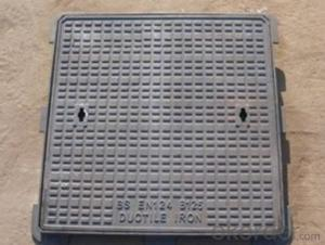 Manhole Covers DC EN124 GGG40 D400 Black Bitumen Coating