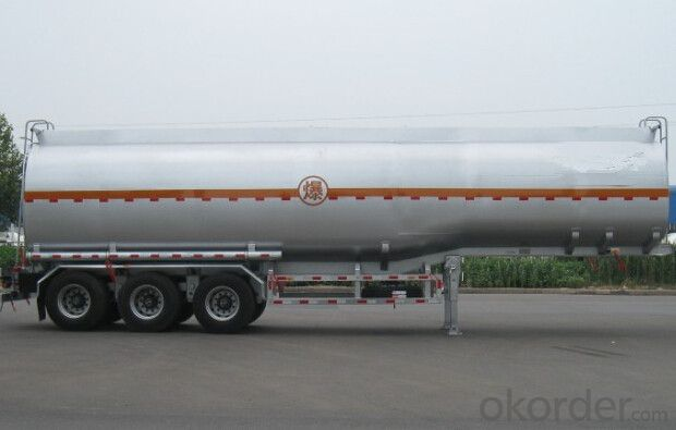 43m3 Lifting Tanker Semi Trailer with Good Quality