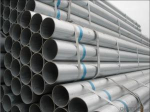 Galvanized Steel Circle  Pipe Q345 Grade