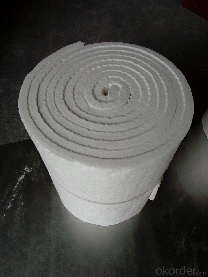 Ceramic Wool Blanket 1260 High Purity Al2O3 48% Fireplace Insulation