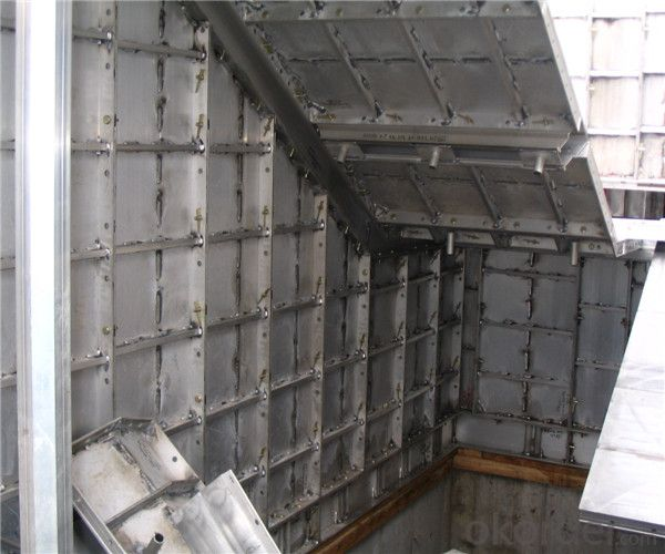 Whole Aluminum Formwork System for Slab Buildings