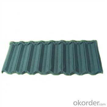 Stone Coated Metal Roofing Tile Red Green Blue Grey Black 2015 New Best Seller