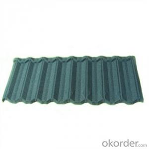Stone Coated Metal Roofing Tile Red Green Blue Grey Black 2015 New Best Seller