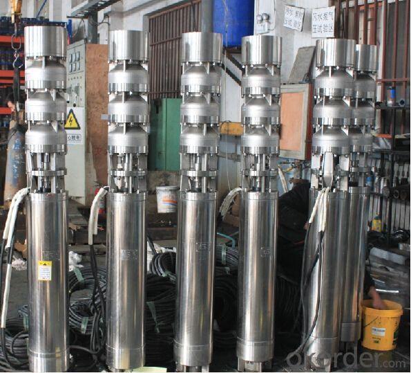 QJ Series Deep Well Submersible Water Centrifugal Pump