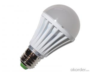 9W LED Bulb Light,CRI80 60W Incandescent Replacement UL