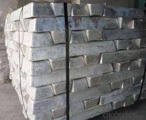 Magnesium Ingot with High Quality 99.99% 99.98% 99.95% High Purity