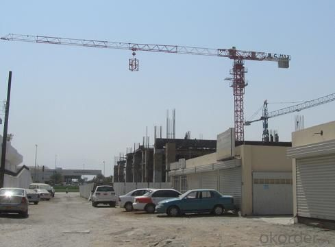 Toples Tower Crane TCP6020 With Jib length of  60M