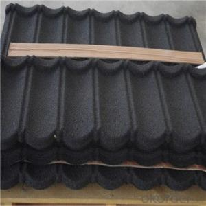 Stone Coated Metal Roofing Tile 2015 New Hot Products Good Quality