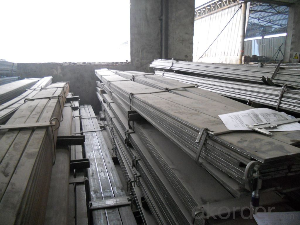 Q235 Stainless Steel Flat Bar of Standard: GB