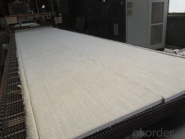 Ceramic Wool Blanket 1260 Standard Al2O3 46%  For Furnace