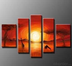 Art Painting Canvas Wooden Frame Stretched