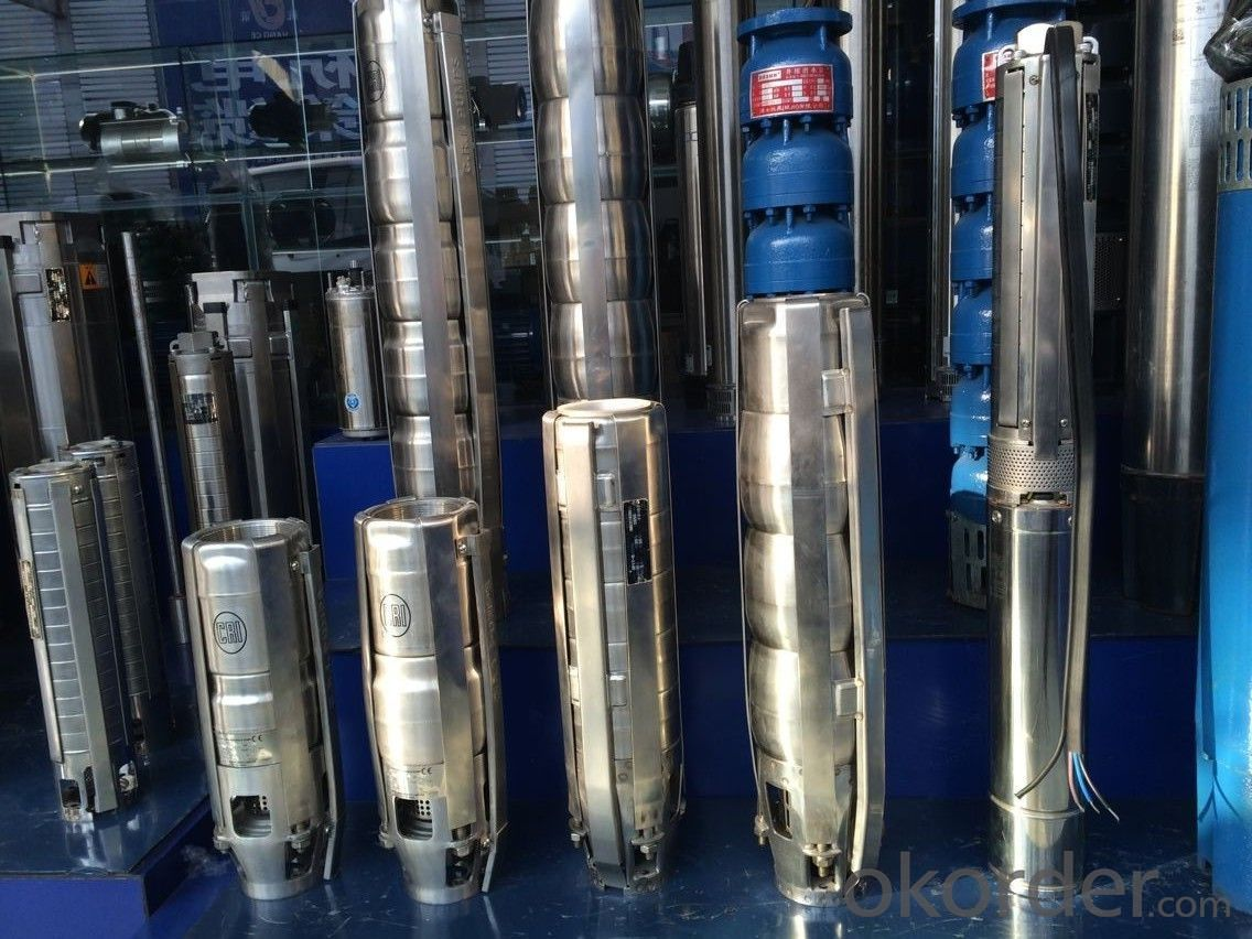 Deep well Submersible Centrifugal Borehole Water Pumps