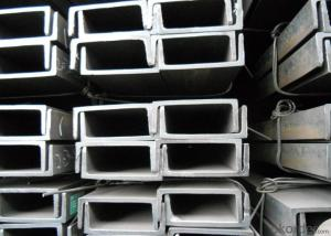 U Channel Steel/Steel Channel /Galvanized Steel Channel