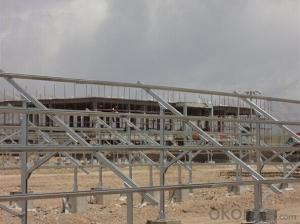 Pile Ground in C Type Steel, Mounting Structure