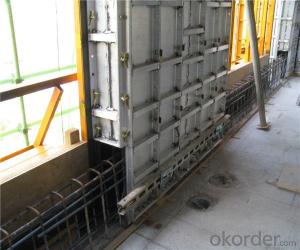 Whole Aluminum Formwork System with Supporting System