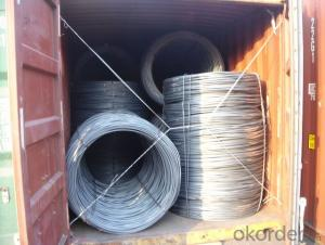 Hot Rolled Wire Rod of Steel Grade: Q195/235