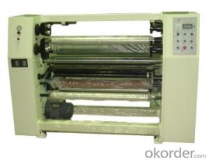 Stationery  Bopp Adhesive Tape Slitting Machine