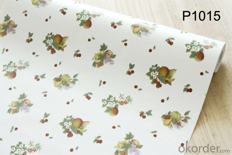 Self-adhesive Wallpaper Latest Home Decor Plain PVC Wallpaper Design