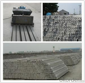 Prestressed Concrete Purlin Forms Machine