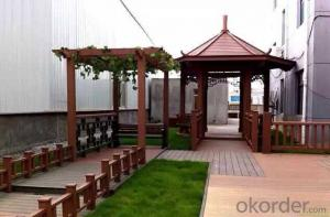 UV Resistance WPC Decking Outdoor Most Popular Hot Sale