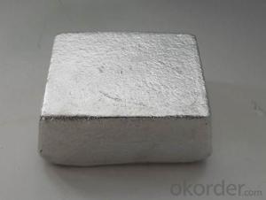 Magnesium Ingot 7.5kg/1kg Mg Content 99.9%