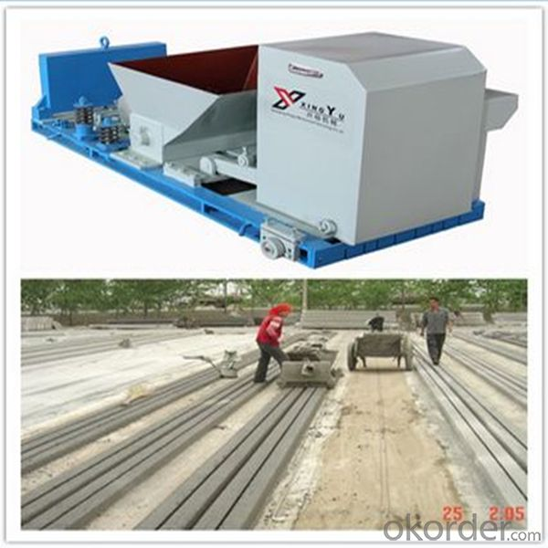 Prestresses Cement Pillar Making Machine