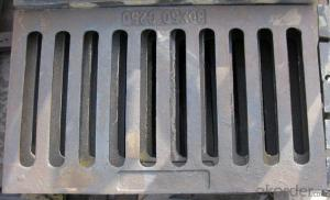 Grating Ductile Cast Iron Rain Grate with Frame Can be Customised
