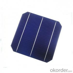 Monocrystalline Solar Cells High Quality 15.00-18.50