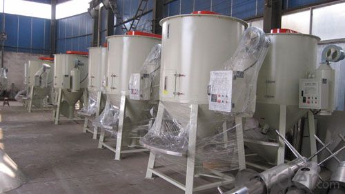 Plastic Recycle Line Vertical Plastic Pellets Mixer and Dryer  Dry Mixer