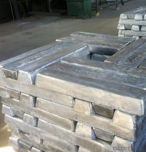 Magnesium Metal Ingot Mg 99.9% High Purity