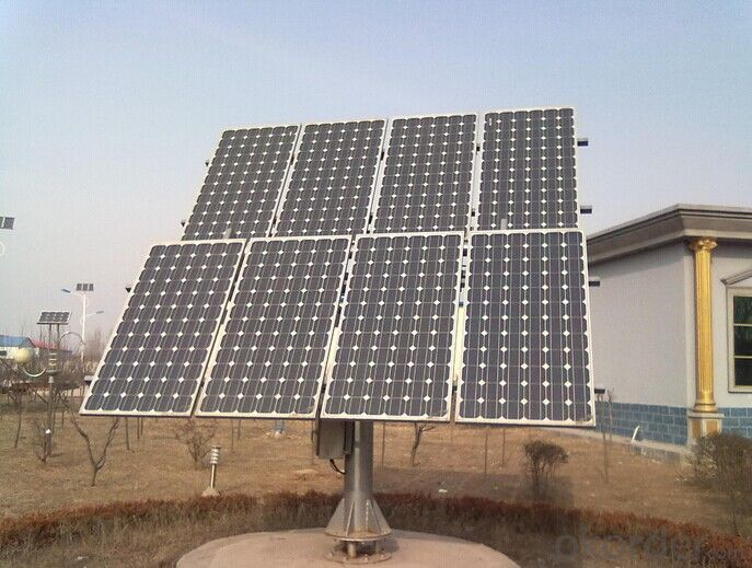 Polycrystalline Dual-axis Tracking System