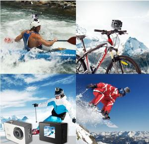 1080P Full HD Helmet Action Cam 1080P HD Action Cam WIFI Action Cam