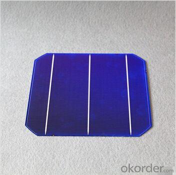 Monocrystalline Solar Cells High Quality 156mmx156mm±0.5mm