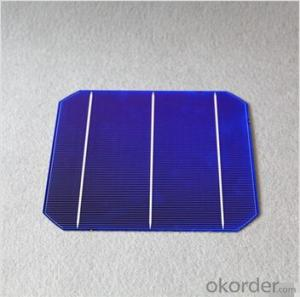 Monocrystalline Solar Cells High Quality 156mmx156mm±0.5mm