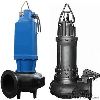 WQ series Designed Sewage Centrifugal Submersible Pumps