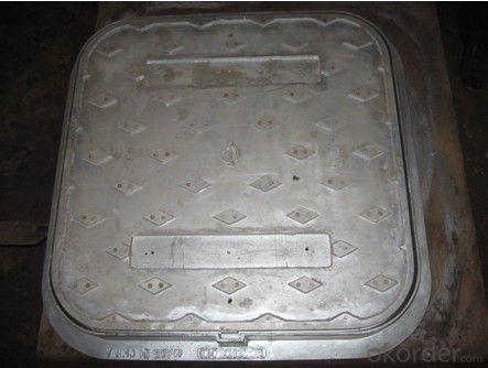 Manholes Covers Ductile Iron EN124 GGG40 B125 DI