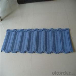 Stone Coated Metal Roofing Tile Red Green Blue Black Factory Price