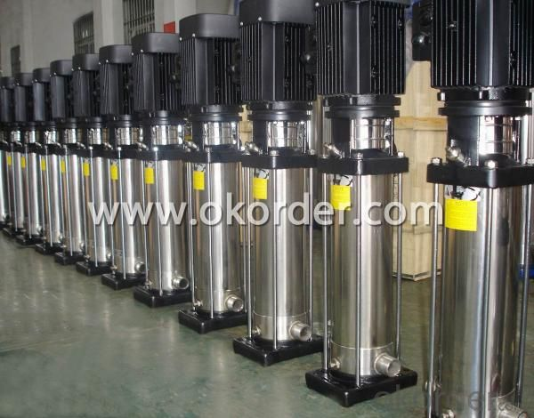 CDL Series Designed Stainless Steel Vertical Multistage Centrifugal Pumps