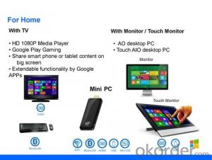 Mini PC Stick Fantastic Windows OS+Quad Core+Intel Processor