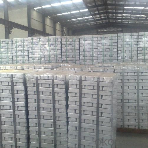 Magnesium Ingots High Pure Mg Ingot 99.9%