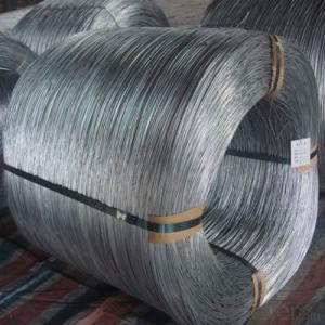 Non Standard Hot Dipped Galvanised Wire with High Zink Coating