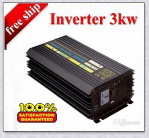 Solar  Inverter 24V 3000W Leading-Edge Technology