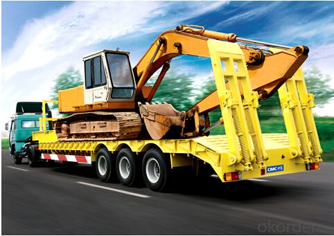 CMAX Flatbed Semi Trailer with Good Quality