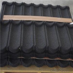 Stone Coated Metal Roofing Tile Heat-Resisting Waterproof  Windproof