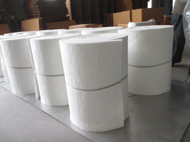 Ceramic Wool 1260 High Purity 100-1220mm Wide Ceramic Wool Blanket